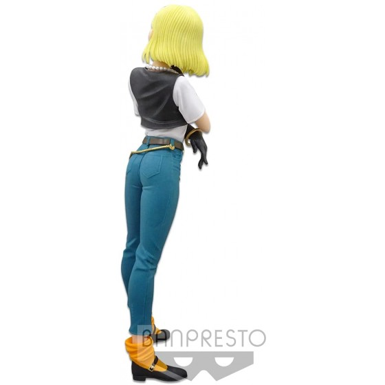 FIGURA ANDROIDE 18 GLITTER AND GLAMOURS DRAGON BALL