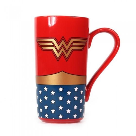 TAZA LATTE WONDER WOMAN DC COMICS 1