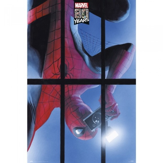 POSTER SPIDER-MAN 80 YEARS