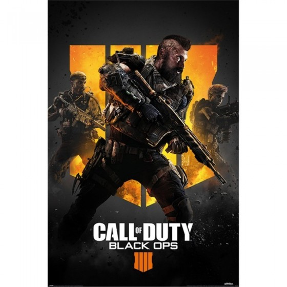 POSTER CALL OF DUTY BLACK OPS IV