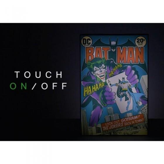 CUADRO-LÁMPARA LUMINART BATMAN DC COMICS2